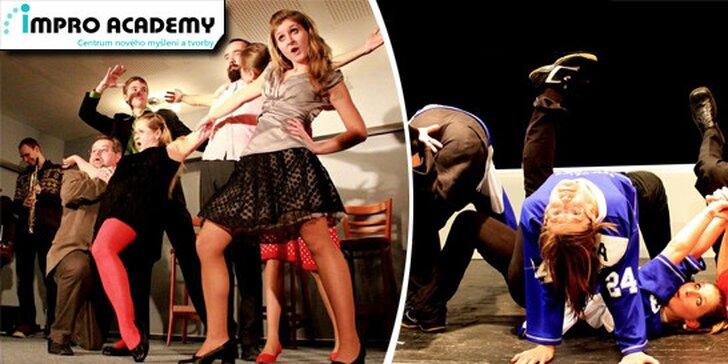 Workshop divadelní improvizace se zkušenými lektory v Ostravě