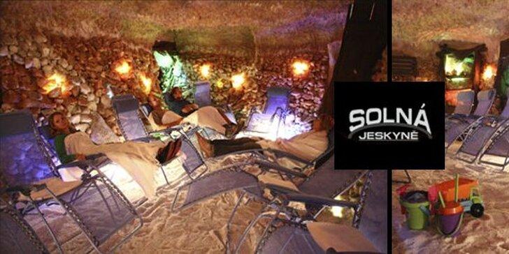 249 Kč za PĚT vstupů do pravé solné jeskyně Českomoravská! Přenosná permanentka a blahodárné účinky solí se slevou 58 %.