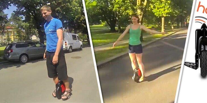 Projížďky na unikátní jednokolce Free Wheel