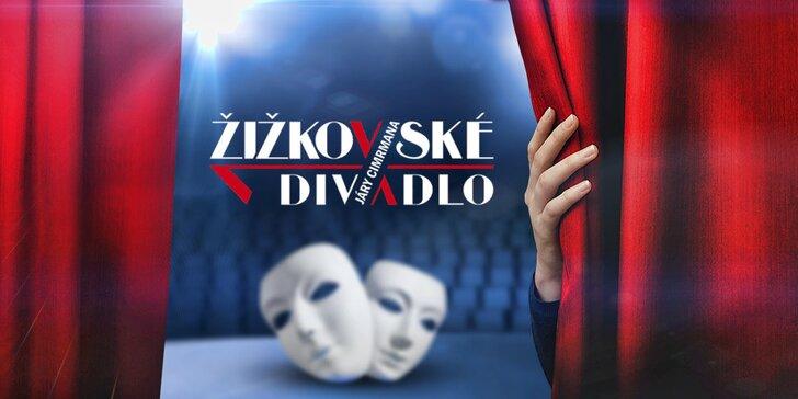 40% sleva na 2 vstupenky do Divadla Járy Cimrmana
