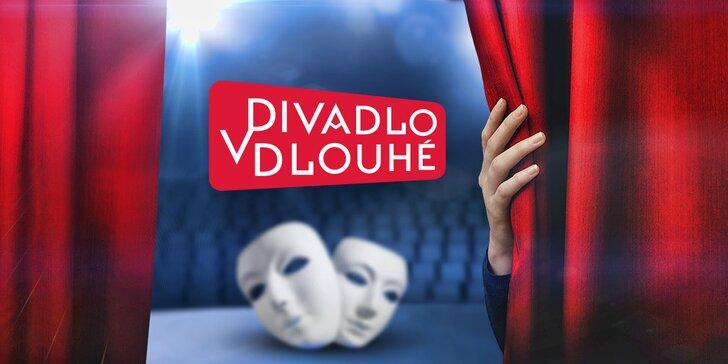 40% sleva na vstupenky do Divadla v Dlouhé