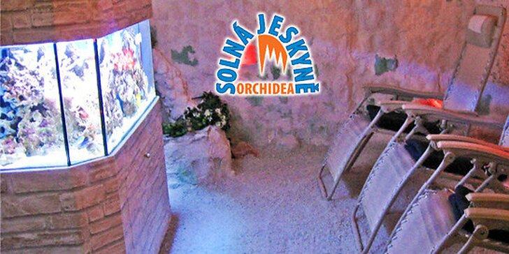 1 nebo 5 vstupů do solné jeskyně s dárkem nebo solný dárkový balíček