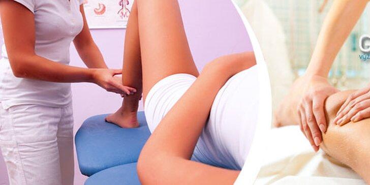 Ruční lymfatická masáž nohou a hýždí (90 min)