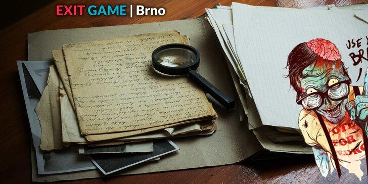 Dobrodružná úniková hra EXIT GAME (60 min)