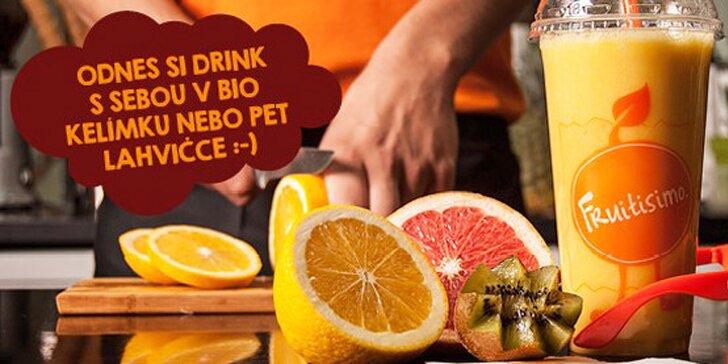 Dva drinky Fruitisimo plné lásky za 99 Kč