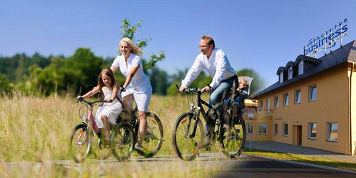 Ubytování s polopenzí v Jihlavě na 3-4 dny pro dva. Luxusní 4* hotel kousek od aquaparku, krásná ZOO, jihlavské podzemí, cyklistika nebo výlet do Telče!