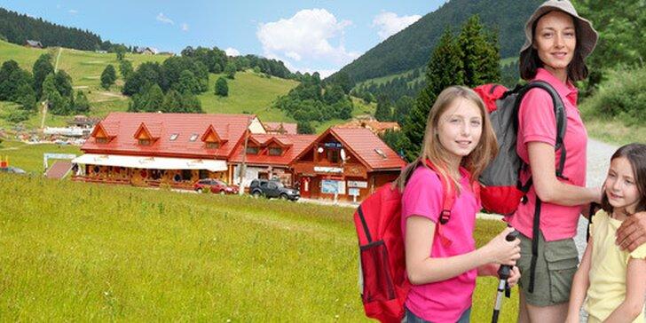 6denní pobyt až pro 4 osoby v Nízkých Tatrách. Komfortní apartmány v Donovalech, krásná příroda, čistý vzduch a slovenská pohostinnost!