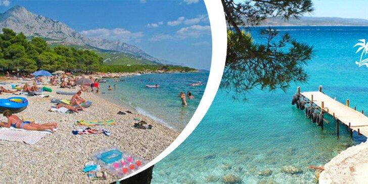 FIRST Minute - Ubytování v kempu v chorvatské Baška Voda včetně dopravy