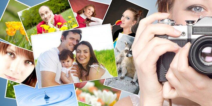 Profesionální vyvolání 100 fotografií 10×15 cm i video služby