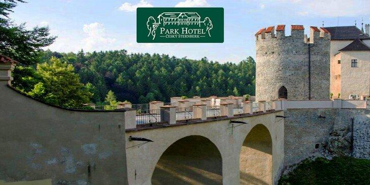Romantický pobyt s výhledem na hrad Český Šternberk