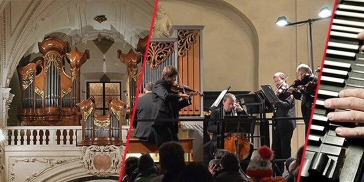 Varhanní koncerty v kostele Nejsvětějšího Salvátora u Karlova mostu