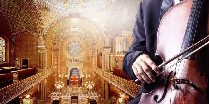 Vstupenka na koncert v nádherné Španělské synagoze