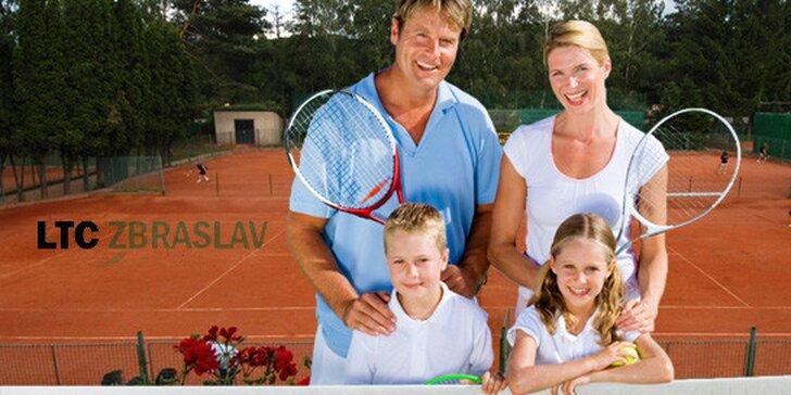 5denní příměstský tenisový kemp pro děti od 4 do 15 let! Areál LTC Zbraslav, kvalifikovaní trenéři askvělá zábava na léto.