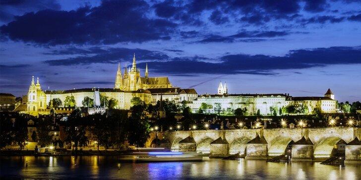 Až 3 dny romantiky se snídaní či polopenzí v Praze