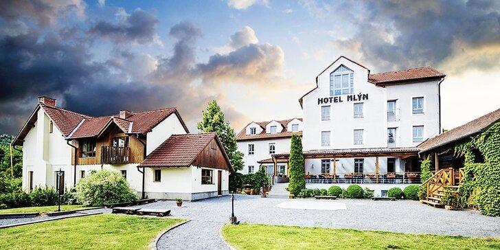 Zimní či jarní pohoda s degustací vín ve 4* hotelu na Moravě
