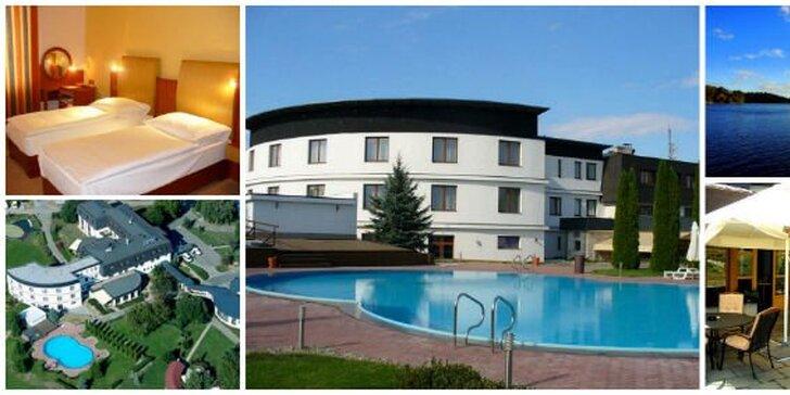 2999 Kč za tři dny PRO DVA v hotelu Atlantis u Brněnské přehrady! Balíček úžasné letní pohody se slevou 51 %.