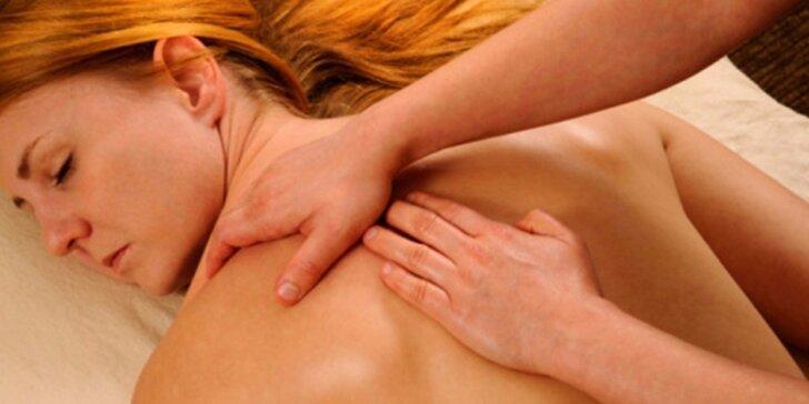 Léčebné a relaxační balíčky masáží ve studiu Life Energy
