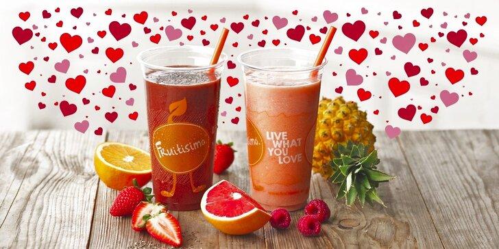 2 drinky Fruitisimo plné lásky a zdraví za 99 Kč
