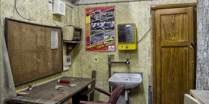 Exkurze do atomového krytu 10-Z pod Špilberkem: s baterkou a potmě