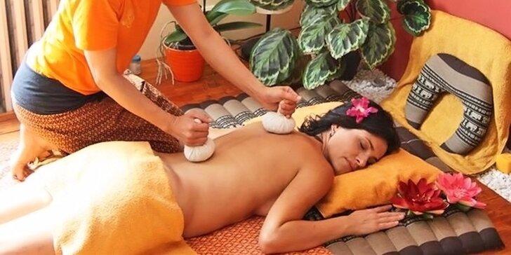 Až 90minutová thajská masáž od šikovných masérek