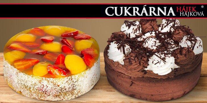 Neodolatelné dorty a cheesecaky z cukrárny Hájek & Hájková