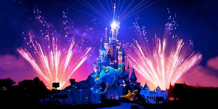 Letní či podzimní zájezdy do Disneylandu a Paříže s možností noclehu a snídaně