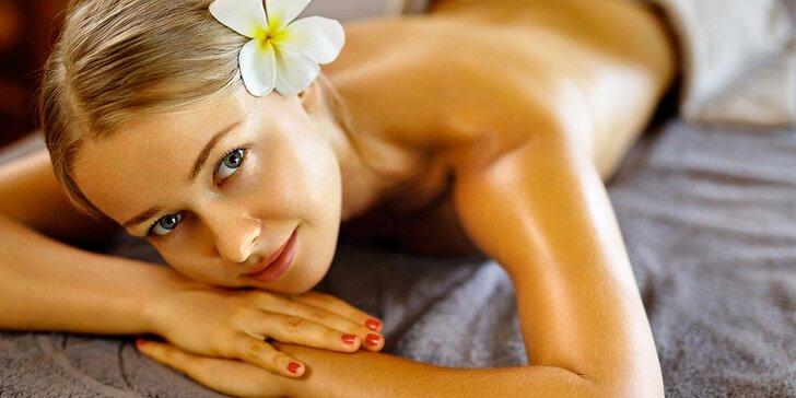 60 nebo 90 minut odpočinkové masáže – na výběr ze 4 druhů