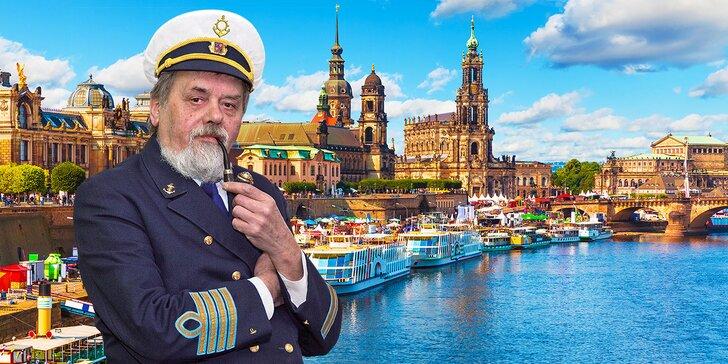Romantická plavba lodí do Drážďan a večerní raut all you can eat