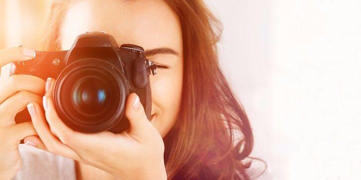 Fotografický kurz pro začátečníky dle výběru