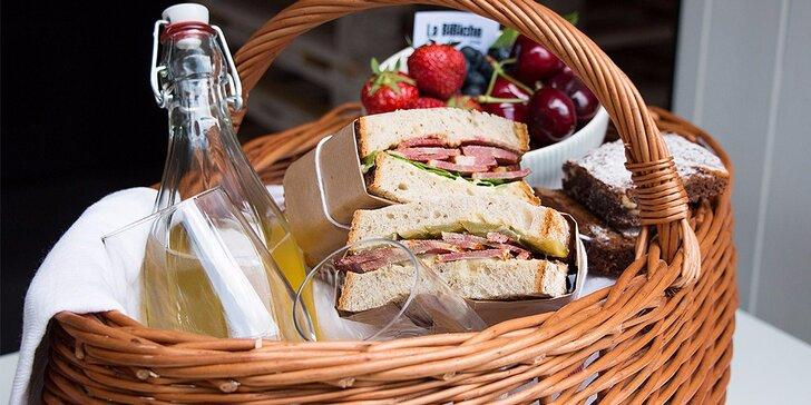 Uspořádejte romantický piknik ve dvou nebo hodujte s přáteli
