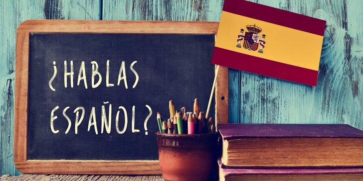 Šestiměsíční španělština online + 1 přístup zdarma