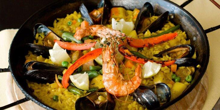 Za tajemstvím iberské kuchyně: Španělské 3chodové menu pro dva