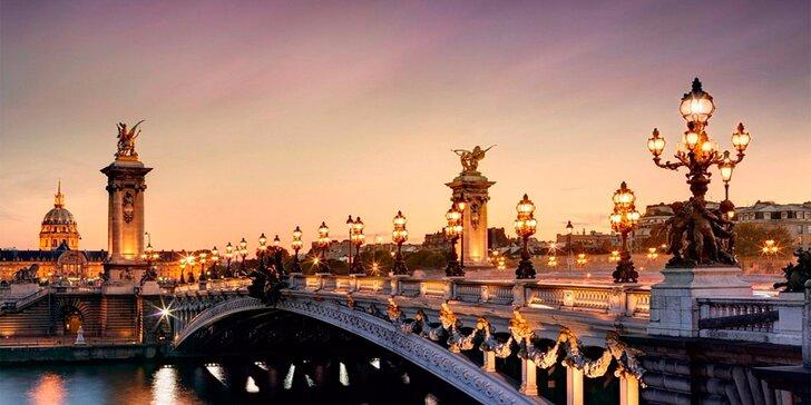 Okouzlující Paříž a Versailles: 5denní poznávací zájezd včetně ubytování