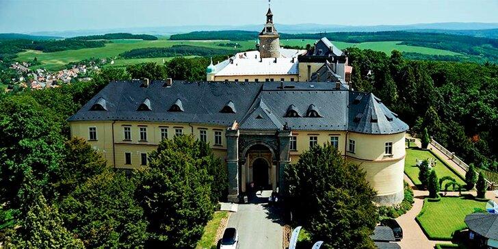 Pohádkový podzim v impozantním zámku Zbiroh vč. středověké večeře a wellness