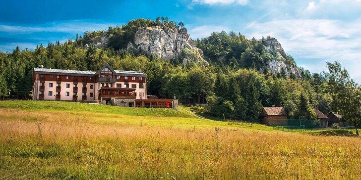 Jedinečná wellness dovolená v horském prostředí Velké Fatry s množstvím aktivit