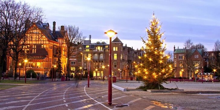 Poznejte vánoční kouzlo Amsterdamu s průvodcem a odjezdy i z Moravy