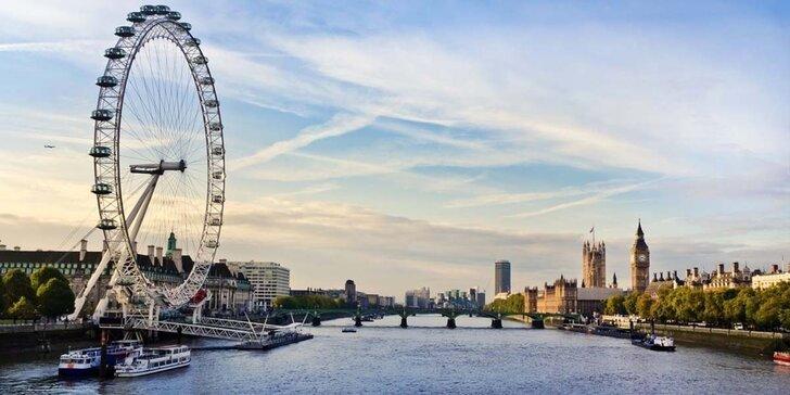 Víkendový zájezd do Londýna za poznáním či nákupy