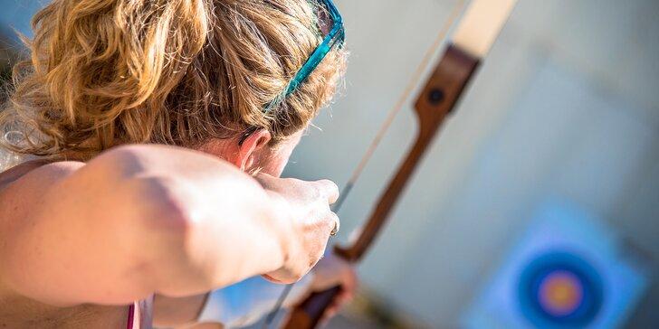 Robin Hood hledá posily - 2hodinový kurz sportovní lukostřelby