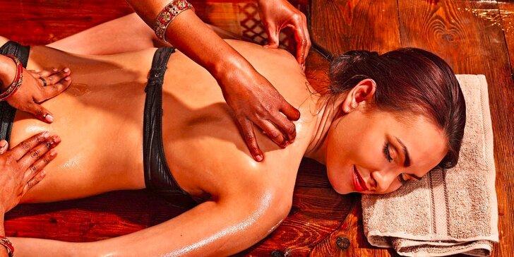 Čínská masáž: Hodinové hýčkání od plosek nohou po temeno hlavy