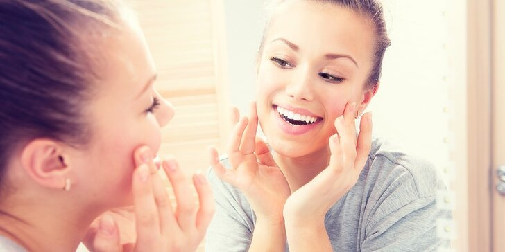 Podzimní kosmetické ošetření pro zářivou a čistou pleť