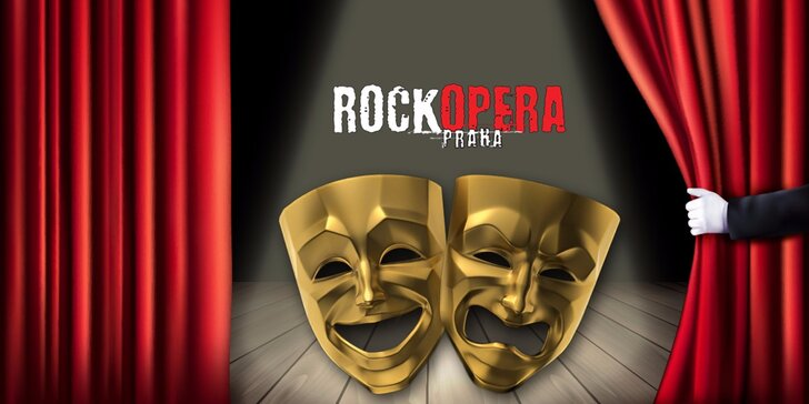 Řízná hudební show v RockOpeře: 40% sleva na představení dle výběru