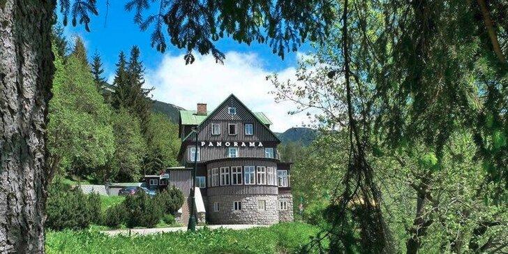 Podzimní prázdniny a víkendy se snídaní ve Špindlerově Mlýně