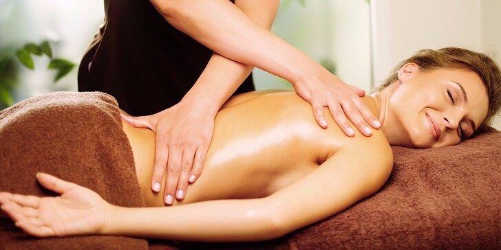 Nechte se hýčkat: Sportovní nebo relaxační masáž v délce 60 minut