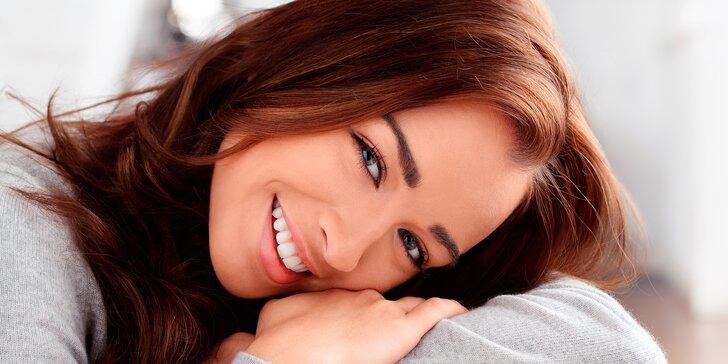 Profi bělení zubů pro krásný úsměv a 30% sleva na dentální hygienu