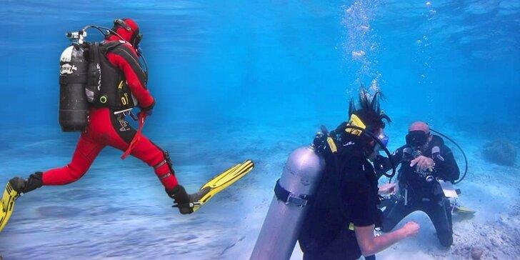 Až 2hodinový poznávací ponor pro začátečníky na jezeru Matylda