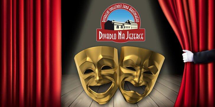 Divadlo na Jezerce: Vybraná říjnová představení s 20% slevou