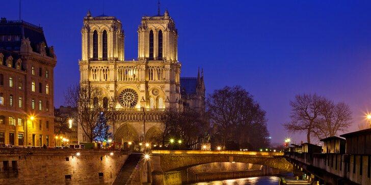 Poznejte kouzelnou Paříž v období adventu: 1x ubytování se snídaní