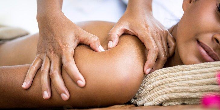 Dokonalé uvolnění: zdravotní či relaxační masáž dle výběru
