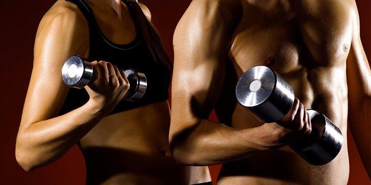 Neomezený měsíční vstup do fitness s tréninkovým plánem