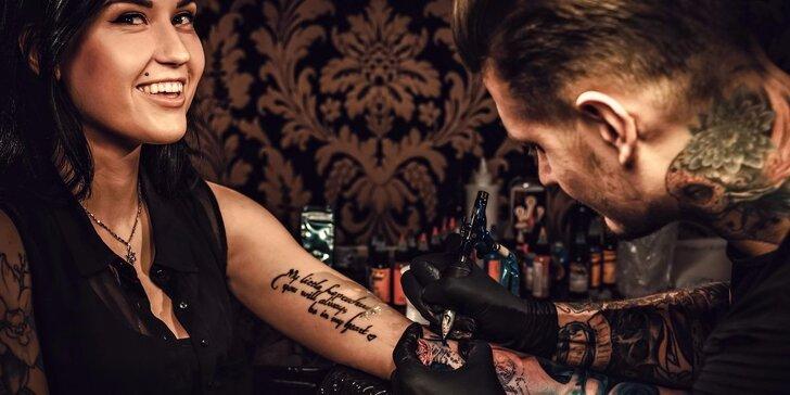 Nové černobílé nebo barevné tetování od šikovného tatéra